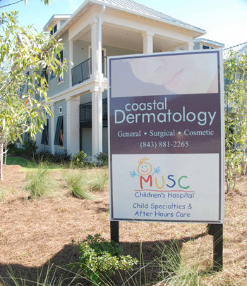 Adams Development built this Medical Building at US Hwy 17 and Hwy 41 housing Coastal Dermatology and the MUSC SC Childrens Care Clinic