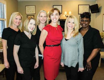 Heidi Williams, MD and Mount Pleasant Medi Spa staff