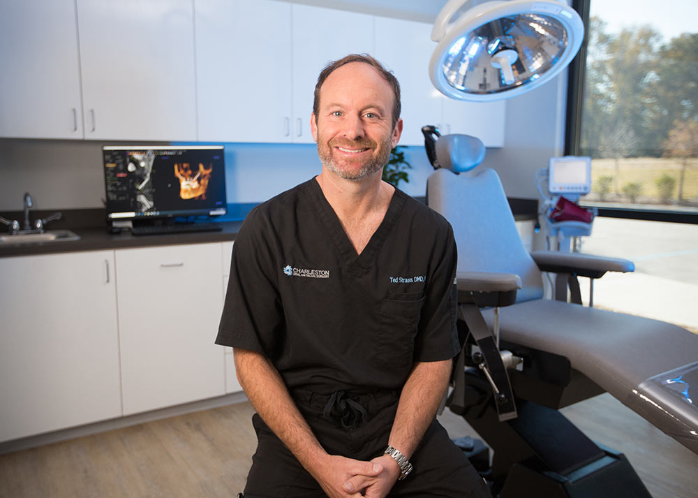 Dr. Edward R. Strauss of Charleston Oral and Facial Surgery (COAFS).