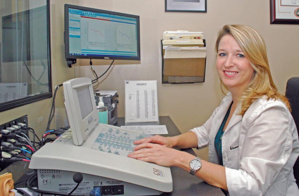 Dr. Juliette Gassert at Advanced Hearing Care, Mount Pleasant