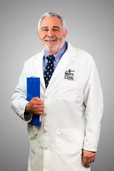 Dr. Stuart Markovitz, M.D., Medical Director of the Charleston Men's Clinic in Mount Pleasant, South Carolina.