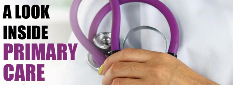 A look inside Primary Care. The challenges, changes and comparisons to medical specialists
