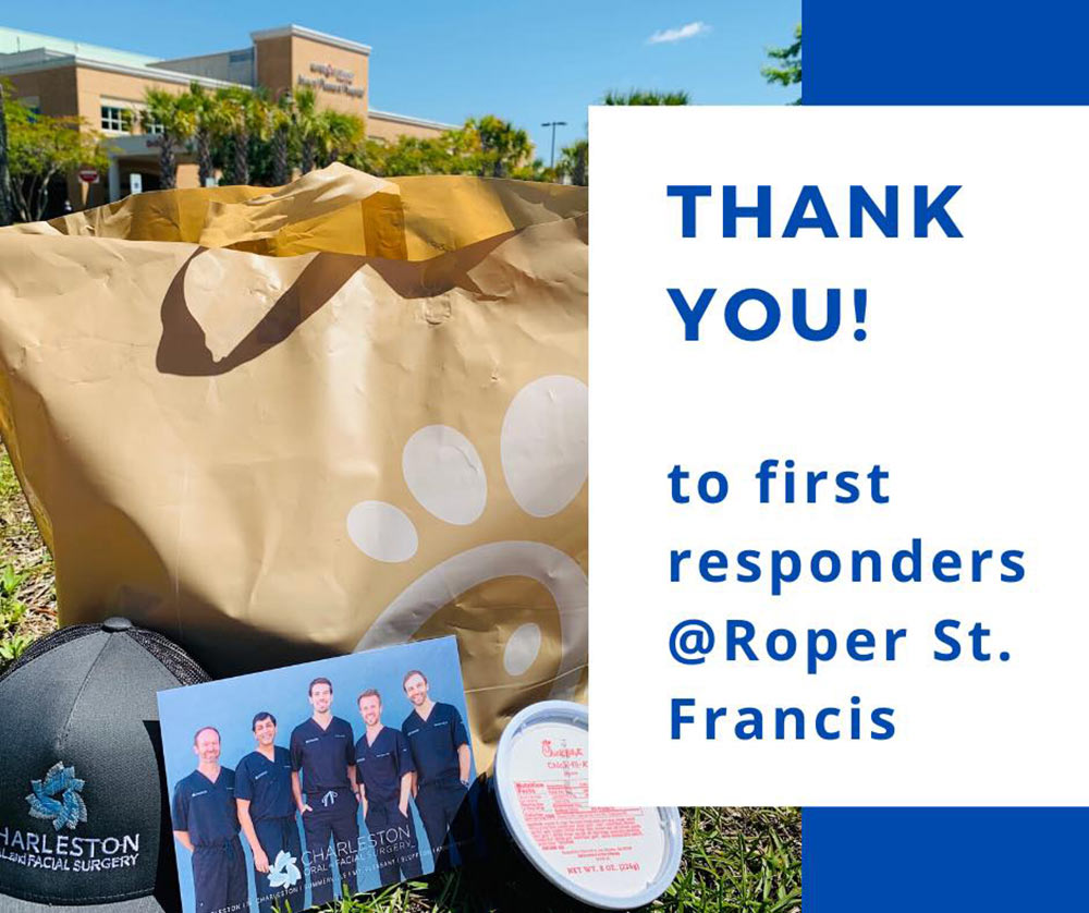 Thank you Roper St. Francis first responders!